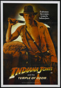 "Movie Posters:Adventure, Indiana Jones and the Temple of Doom (Paramount, 1984). AustralianOne Sheet (27"" X 40""). Adventure. Directed by Steven Spie..."