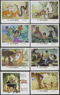 """Movie Posters:Animated, The Jungle Book (Buena Vista, R-1984). Lobby Card Set of 8 (11"""" X14""""). Family Adventure. Starring the voices of Phil Harris...(Total: 8 Items)"""