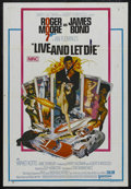 "Movie Posters:Action, Live and Let Die (United Artists, 1973). Australian One Sheet (27"" X 40""). Spy Thriller. Starring Roger Moore, Yaphet Kotto,..."