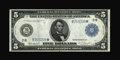 Fr. 850 $5 1914 Federal Reserve Star Note Very Fine
