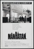 "Movie Posters:Comedy, Manhattan (United Artists, 1979). Australian One Sheet (27"" X 40""). Comedy Drama. Directed by Woody Allen. Starring Allen, D..."