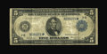 Fr. 849 $5 1914 Federal Reserve Star Note Very Good