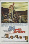 "Movie Posters:War, Merrill's Marauders (Warner Brothers, 1962). One Sheet (27"" X 41"").War...."