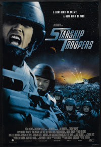 "Starship Troopers (Tri Star Pictures, 1997). One Sheet (27"" X 40""). Science Fiction. Starring Casper Van Dien..."