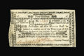 Colonial Notes:New Hampshire, New Hampshire November 3, 1775 40s Extremely Fine....