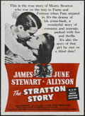 "Movie Posters:Sports, The Stratton Story (MGM, R-1956). One Sheet (27"" X 41""). Sports Drama. Starring James Stewart, June Allyson, Agnes Moorehead..."