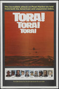 "Movie Posters:War, Tora! Tora! Tora! (20th Century Fox, 1970). One Sheet (27"" X 41"")Style B. War. Starring Martin Balsam, Sô Yamamura, Joseph ..."