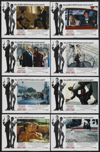 "A View to a Kill (MGM, 1985). British Lobby Card Set of 8 (11"" X 14""). Action. Starring Roger Moore, Christoph..."