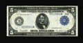 Fr. 851b $5 1914 Federal Reserve Star Note Very Fine