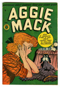 "Golden Age (1938-1955):Humor, Aggie Mack #4 Davis Crippen (""D"" Copy) pedigree (Four Star, 1948) Condition: FN+. Jack Kamen cover. Al Feldstein art on ""Joh..."