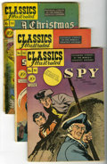 Golden Age (1938-1955):Classics Illustrated, Classics Illustrated Group (Gilberton, 1948-49) Condition: Average GD/VG.... (Total: 8 Comic Books)