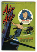 Golden Age (1938-1955):War, Air Ace V1#10 Mile High pedigree (Street & Smith, 1943)Condition: NM-. Flying Tigers story. Overstreet 2006 NM- 9.2 value=...