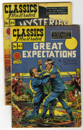 Golden Age (1938-1955):Classics Illustrated, Classics Illustrated #43 and 44 Group (Gilberton, 1947) Condition:Average VG/FN.... (Total: 2 Comic Books)