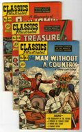 Golden Age (1938-1955):Classics Illustrated, Classics Illustrated #63-70 First Editions Group (Gilberton,1949-50) Condition: Average VG+.... (Total: 8 Comic Books)
