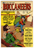 Golden Age (1938-1955):Adventure, Buccaneers #26 Mile High pedigree (Quality, 1951) Condition: NM-. Last Spanish Main story. Overstreet 2006 NM- 9.2 value = $...