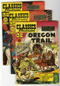 Golden Age (1938-1955):Classics Illustrated, Classics Illustrated #72-80 First Editions Group (Gilberton,1950-51) Condition: Average VG/FN.... (Total: 10 Comic Books)