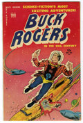 Golden Age (1938-1955):Science Fiction, Buck Rogers #101 (#8) Mile High pedigree (Toby Publishing, 1951)Condition: FN+. Murphy Anderson art. Overstreet 2006 FN 6.0...