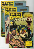 Golden Age (1938-1955):Classics Illustrated, Classics Illustrated Group (Gilberton, 1947-48) Condition: AverageVG+.... (Total: 10 Comic Books)