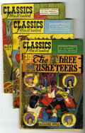 Golden Age (1938-1955):Classics Illustrated, Classics Illustrated Group (Gilberton, 1946-47) Condition: AverageFR/GD.... (Total: 9 Comic Books)