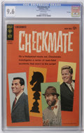 Silver Age (1956-1969):Mystery, Checkmate #2 File Copy (Gold Key, 1962) CGC NM+ 9.6 White pages.Photo cover. Overstreet 2006 NM- 9.2 value = $70. CGC censu...