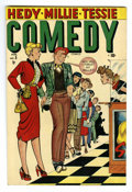 "Golden Age (1938-1955):Humor, Comedy Comics #5 Davis Crippen (""D"" Copy) pedigree (Timely, 1949) Condition: VF/NM. Overstreet 2006 VF/NM 9.0 value = $72; N..."