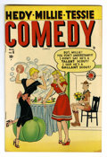 "Golden Age (1938-1955):Humor, Comedy Comics #6 Davis Crippen (""D"" Copy) pedigree (Timely, 1949) Condition: VF+. Overstreet 2006 VF 8.0 value = $54; VF/NM ..."