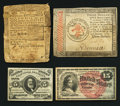 Colonial Notes:Continental Congress Issues, Continental, Colonial, and Fractional Paper Money.. ... (Total: 4items)