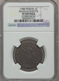 Colonials: , 1788 1C Massachusetts Cent, Period -- Corrosion -- NGC Details. VF.NGC Census: (8/101). PCGS Population (30/305). ...