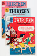 Silver Age (1956-1969):Humor, Thirteen File Copy Group (Dell, 1963-70) Condition: Average VF+.... (Total: 41 Comic Books)
