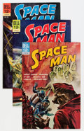 Silver Age (1956-1969):Science Fiction, Space Man #4 and 6-10 File Copy Group (Dell, 1963-72) Condition:Average VF+.... (Total: 16 Comic Books)