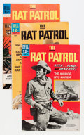Silver Age (1956-1969):Adventure, Rat Patrol #1-6 File Copy Group (Dell, 1967-69) Condition: Average VF+.... (Total: 15 Comic Books)