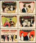 "Movie Posters:Comedy, Evening Clothes (Paramount, 1927). Title Lobby Card and Lobby Cards(5) (11"" X 14"").. ... (Total: 6 Items)"