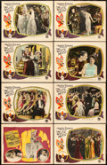 """Movie Posters:Drama, The White Moth (Preferred Pictures, 1924). Lobby Card Set of 8 (11""""X 14"""").. ... (Total: 8 Items)"""