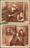 """Movie Posters:Crime, The Night Hawk (W.W. Hodkinson, 1924). Lobby Cards (2) (11"""" X 14"""").. ... (Total: 2 Items)"""
