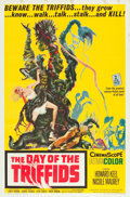 "Movie Posters:Science Fiction, The Day of the Triffids (Allied Artists, 1962). One Sheet (27"" X41"") and Photos (5) (8"" X 10"").. ..."