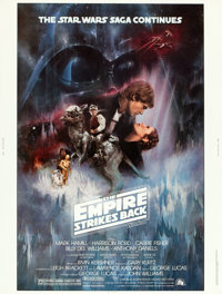 "The Empire Strikes Back (20th Century Fox, 1980). Poster (30"" X 40"")"