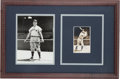Baseball Collectibles:Photos, 1930's Jimmie Foxx Double Signed Photograph by George Burke....