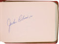 Autographs:Others, 1960's Major League Baseball Stars Signed Album with JackieRobinson, Clemente....