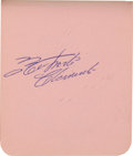 Autographs:Checks, Late 1950's Major League Baseball Players Signed Autograph Book with Roberto Clemente....
