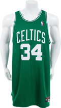 Basketball Collectibles:Uniforms, 2002-03 Paul Pierce Game Worn Boston Celtics Jersey. ...