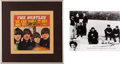 Music Memorabilia:Autographs and Signed Items, Beatles Drummers Autographs - Pete Best and Ringo Starr.... (Total:2 Items)