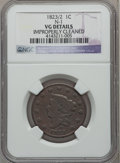 Large Cents: , 1823/2 1C -- Improperly Cleaned -- NGC Details. VG. N-1. NGCCensus: (8/51). PCGS Population (12/88). Mintage: 1,262,000. ...