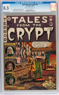 Golden Age (1938-1955):Horror, Tales From the Crypt #25 (EC, 1951) CGC VF+ 8.5 Cream to off-whitepages....