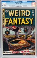 Golden Age (1938-1955):Science Fiction, Weird Fantasy #11 (EC, 1952) CGC VF- 7.5 Off-white to whitepages....