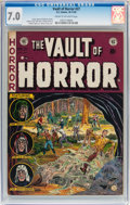 Golden Age (1938-1955):Horror, Vault of Horror #27 (EC, 1952) CGC FN/VF 7.0 Cream to off-whitepages....