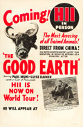 """Movie Posters:Drama, The Good Earth (MGM, 1937). Special Promotional One Sheet (27"""" X41"""").. ..."""