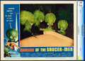"""Movie Posters:Science Fiction, Invasion of the Saucer-Men (American International, 1957). CGC Graded Lobby Card (11"""" X 14"""").. ..."""
