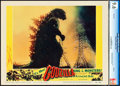 "Movie Posters:Science Fiction, Godzilla (Trans World, 1956). CGC Graded Lobby Card (11"" X 14"")....."