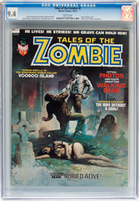 Tales of the Zombie #2 (Marvel, 1973) CGC NM 9.4 White pages