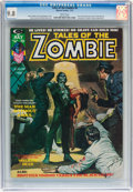 Magazines:Horror, Tales of the Zombie #6 (Marvel, 1974) CGC NM/MT 9.8 White pages....